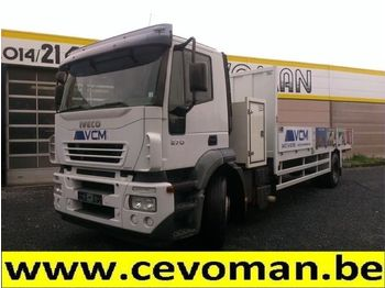 Flatbed truck Iveco Stralis 270