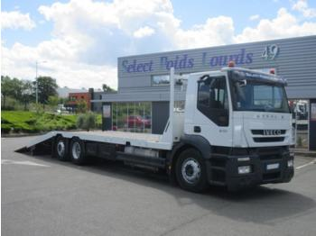 Flatbed truck Iveco Stralis 310