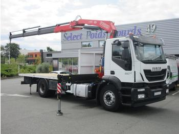 Flatbed truck Iveco Stralis 330