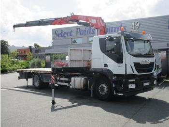Flatbed truck Iveco Stralis 330: picture 1