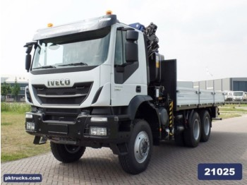 Flatbed truck Iveco Trakker AD380T38WH