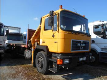 Flatbed truck MAN 19.272