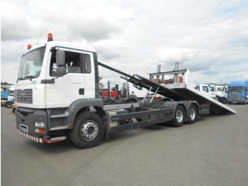 Flatbed truck MAN TGA 28.350