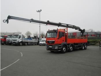 Flatbed truck MAN TGS 35.400
