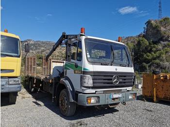 Mercedes 1824 - flatbed truck