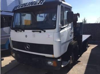 Mercedes Benz 814 OPENBOX ( NO CRANE !!) - flatbed truck