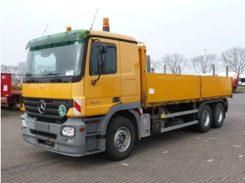 Mercedes-Benz ACTROS 2644 6X4 EPS - flatbed truck