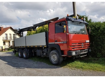Flatbed truck RENAULT MAJOR 420