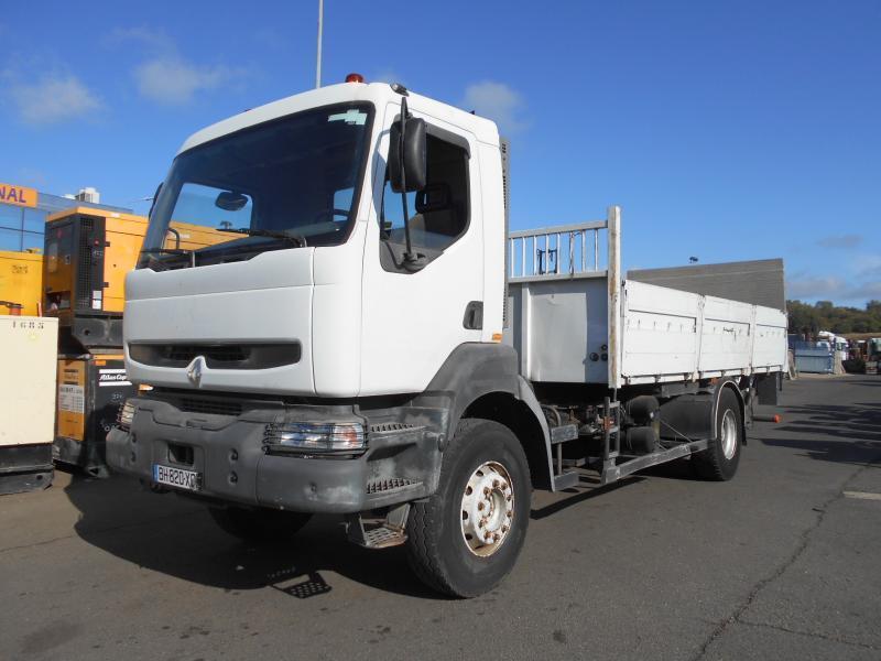flatbed truck Renault Kerax 260