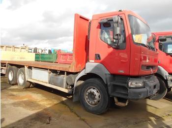 Flatbed truck Renault Kerax 420 DCI