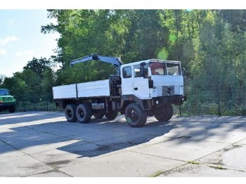 Renault TRM 10000 6x6 - flatbed truck