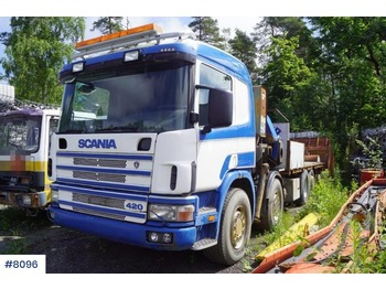 Scania R420 - flatbed truck