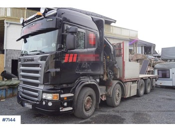 Scania R500 - flatbed truck