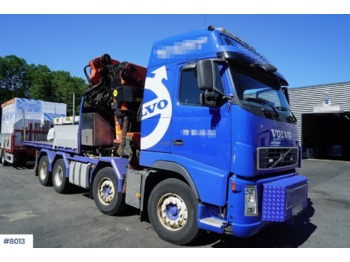 Leasing Volvo FH 520 - flatbed truck