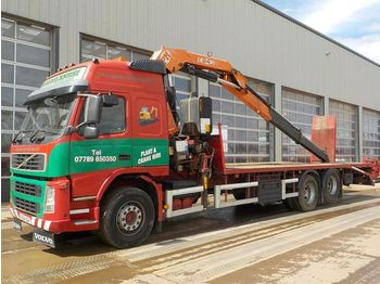 Volvo FM12 - flatbed truck