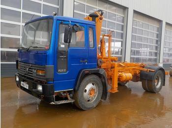 Hook lift truck  1990 Volvo FL6-13