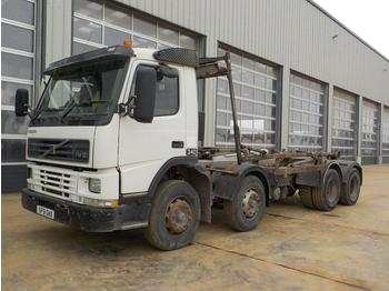 Hook lift truck  2001 Volvo FM12 340