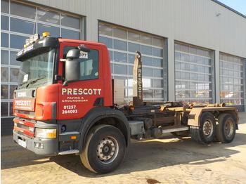 Hook lift truck  2002 Scania 340
