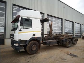 Hook lift truck  2004 DAF CF85.430