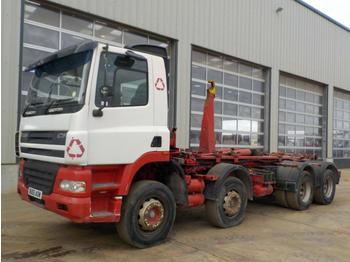 Hook lift truck  2005 DAF CF85-340