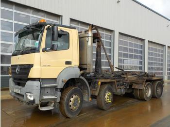Hook lift truck  2009 Mercedes Axor 3236