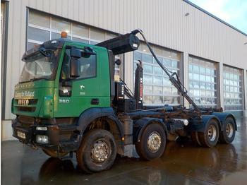 Hook lift truck  2010 Iveco Trakker 360