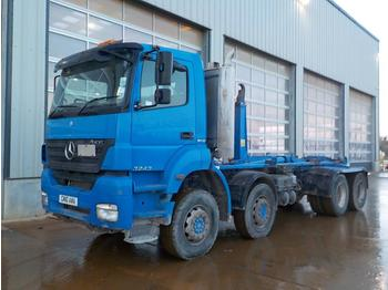 2010 Mercedes Axor 3243 - hook lift truck