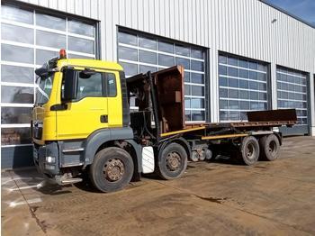 Hook lift truck  2012 MAN TGS32.360