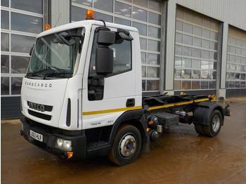 Hook lift truck  2013 Iveco 75E16