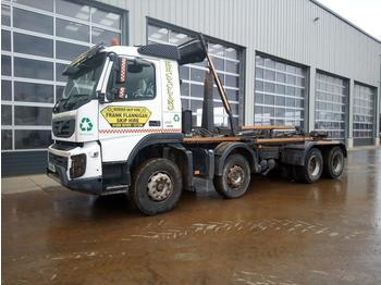 Hook lift truck  2014 Volvo FMX-410
