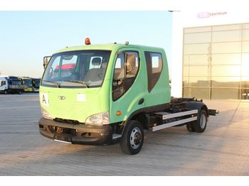 Hook lift truck AVIA D90-L+CTS 5038,DOUBLE CABIN,6 SEATS