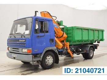 Hook lift truck DAF 45.150 Turbo