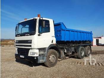 Hook lift truck DAF 6x4
