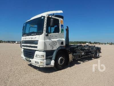 hook lift truck DAF 85 CF 340 4x2