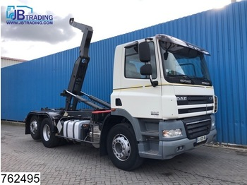 Hook lift truck DAF 85 CF 360 6x2, Manual, Retarder, Airco, Dalby hooklift container system, euro 4