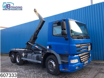 Hook lift truck DAF 85 CF 380 6x2, Guima P 17 Hook Container system, Manual, Analoge tachograaf