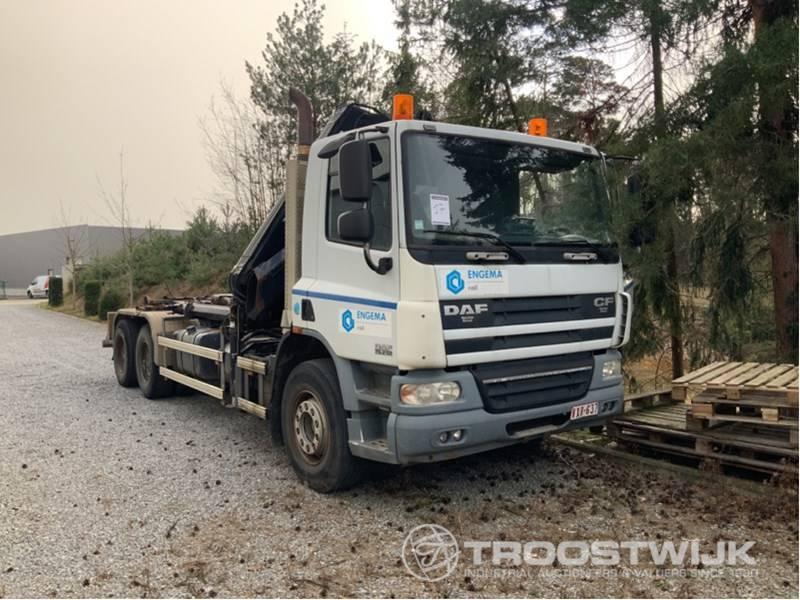 hook lift truck DAF CF75