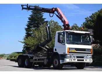 Hook lift truck DAF CF75/240 !!KRAAN/HAAK!!