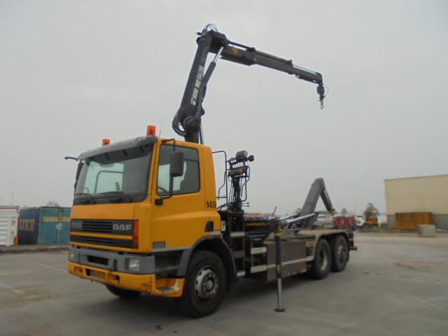 hook lift truck DAF CF75-250