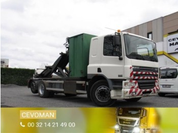 Hook lift truck DAF CF75.310 Containersysteem: picture 1