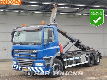 Hook lift truck DAF CF85.360 6X2 Liftachse Euro 5