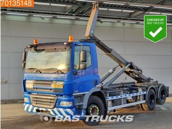 Hook lift truck DAF CF85.380 6X2 Liftachse Euro 3