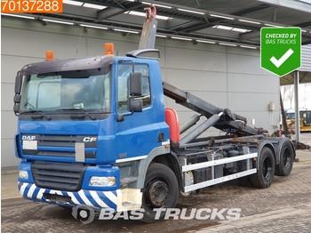 Hook lift truck DAF CF85.380 6X2 Liftachse Kiepanlage Euro 3