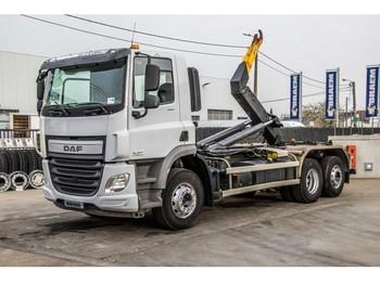Hook lift truck DAF CF 440-6X2-4+Ess. Dir.+DALBY 20T