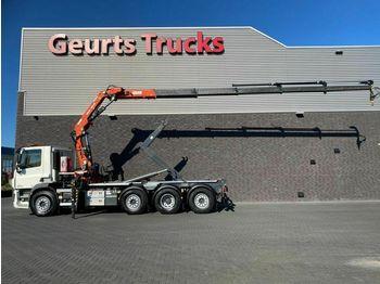 Hook lift truck DAF CF 440 8X2 TRIDEM + VDL HAAKARM + ATLAS 206.3E K