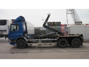 DAF CF 75.250 6X2 HOOKARM SYSTEM MANUAL GEARBOX - hook lift truck