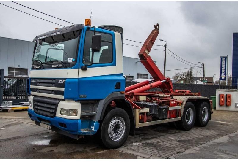 hook lift truck DAF CF 85.380 - VDL 20t