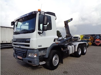 Hook lift truck DAF CF 85.410 + 6x4 + Manual + pto + Retarder spring spring big axle