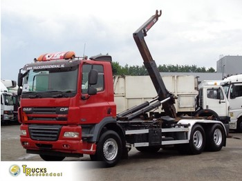 Hook lift truck DAF CF 85.410 + Hook system + 6X2