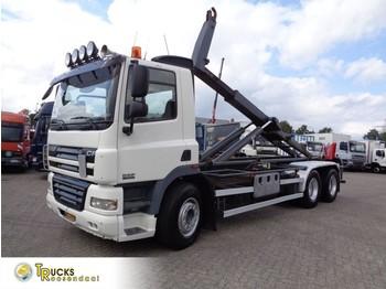 Hook lift truck DAF CF 85.410 + Manual + PTO + Euro 5 + hook system